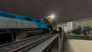Under Siege 2  Dark Territory - Train Crash  Full Scene HD Under Siege 2 Train Crash