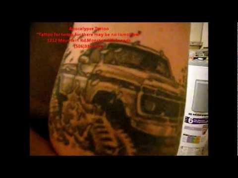 Big Truck Tires >> 1977 Ford 4x4 Mudding Tattoo - YouTube