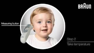 видео Термометр Braun ThermoScan 5