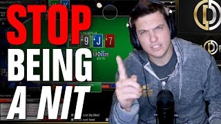 STOP Being A Nit! (Day 39, Bankroll Challenge)