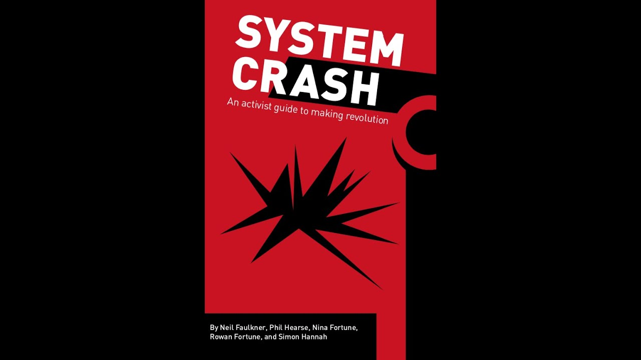 System Crash: Book Launch at a vitual Houseman's event.