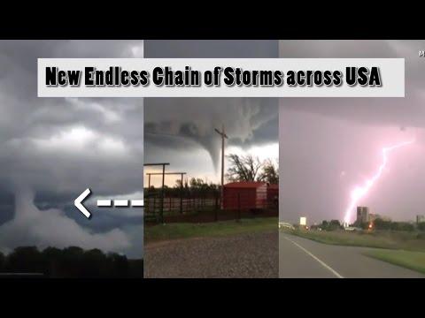 EarthDay brings 2 weeks of massive storms across USA.