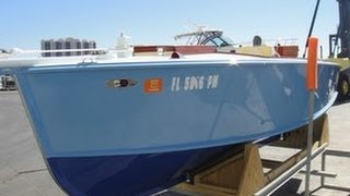 Used 2013 William Hand 18 Diesel Watch Launch For Sale In Pinellas, Florida