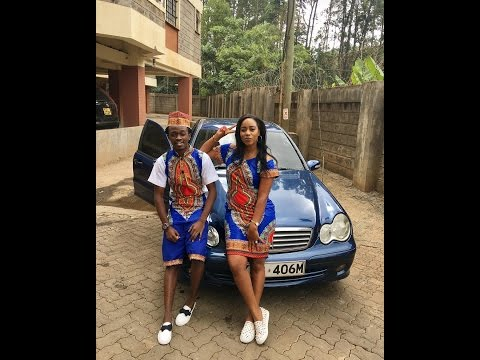 Gospel Artist Bahati celebrating his birthday with Girlfriend