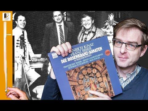 Heinrich I.F. Biber : Rosenkranz-Sonaten (Rosary sonatas) : Franzjosef Maier (1983)
