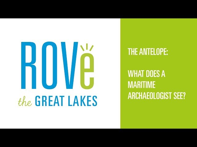 The Antelope: What does a maritime archaeologist see?
