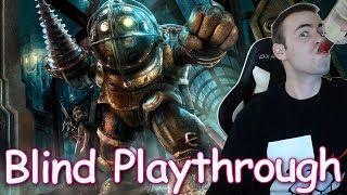 Bioshock BLIND Playthrough Part 3 - Ending Reaction  (Let's play Walkthrough Reaction)