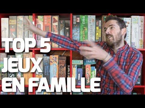 TOP 5 JEUX DE SOCIETE EN FAMILLE