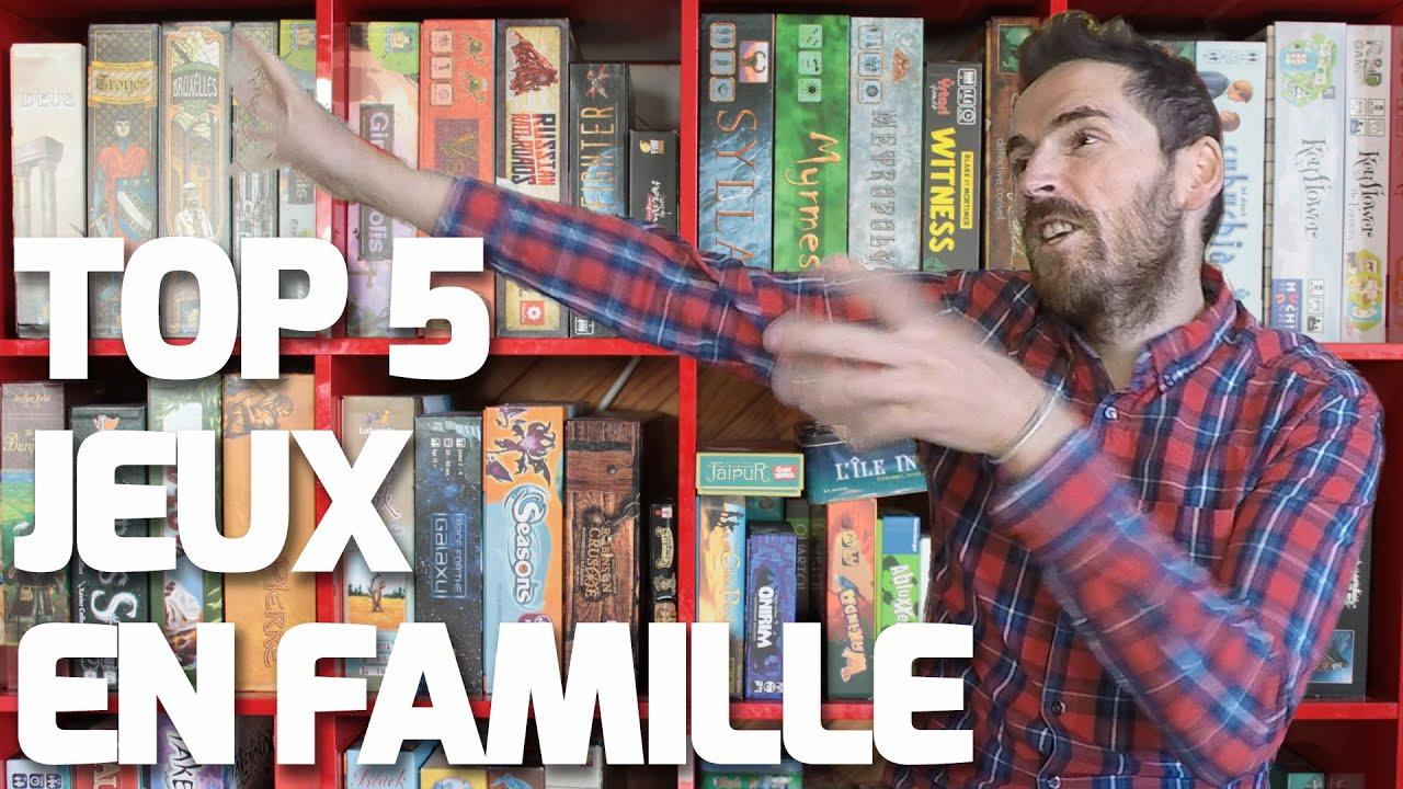 top 5 jeux de societe en famille youtube. Black Bedroom Furniture Sets. Home Design Ideas