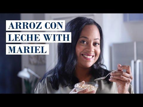 Arroz Con Leche (Rice Pudding) with Mariel Saldana I My Family Recipe