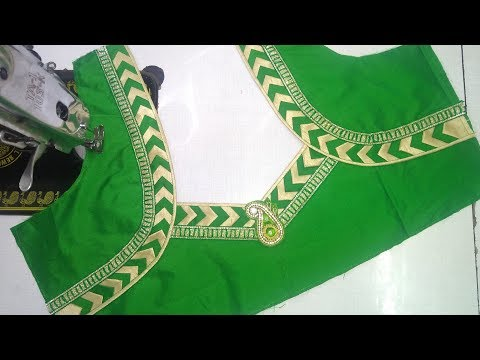 Easy blouse designing at home || Womens fashion blouses