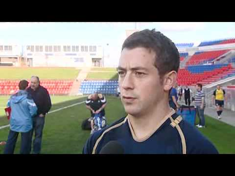 INTERVIEW WITH SCOTLAND RUGBY PLAYER GREIG LAIDLAW AHEAD OF HUNTER TEST