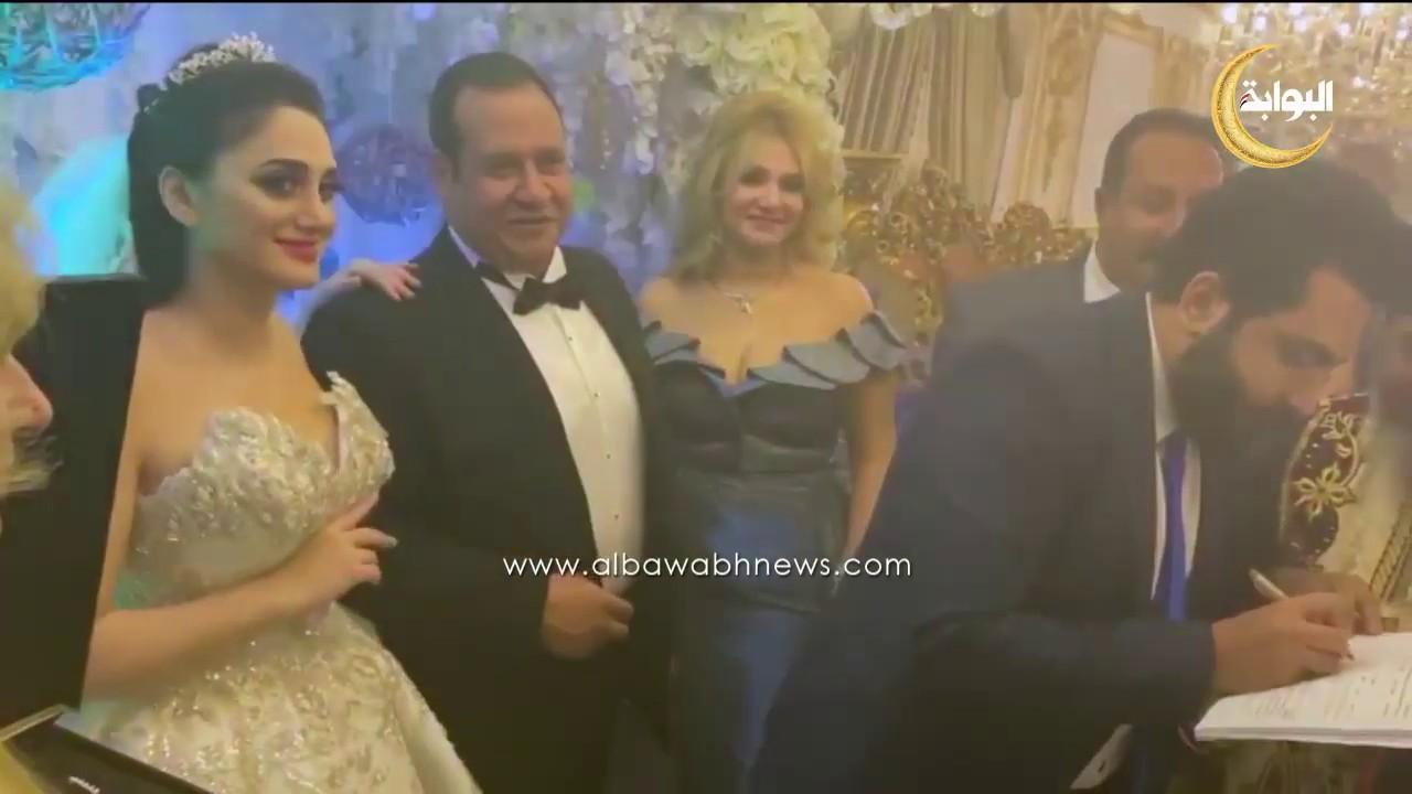 زواج صبري نخنوخ اول فيديو من حفل الزفاف كامل Youtube