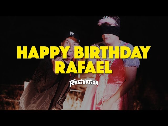 Happy Birthday Rafael #23 - FEESTNATION