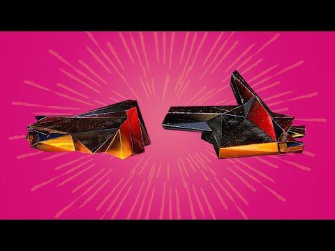 Run The Jewels - JUST - featuring Pharrell and Zack de la Rocha [[Audio Visualizer w/ LYRICS]]