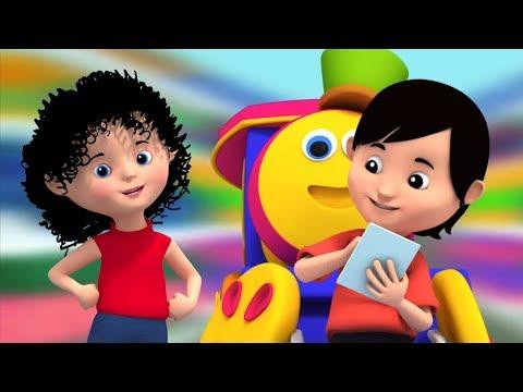 Bob Essen Zug | Bob Den Zug | Kinderreime | Lieder Für Kinder | Bob Train Song | Food Train
