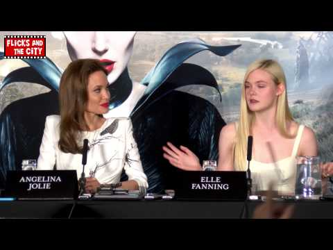 Is Angelina Jolie scary in real life? - Angie & Elle Fanning speak out!