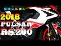 2018 NEW PULSAR RS 200 PRICE/FEATURES/FINANCE