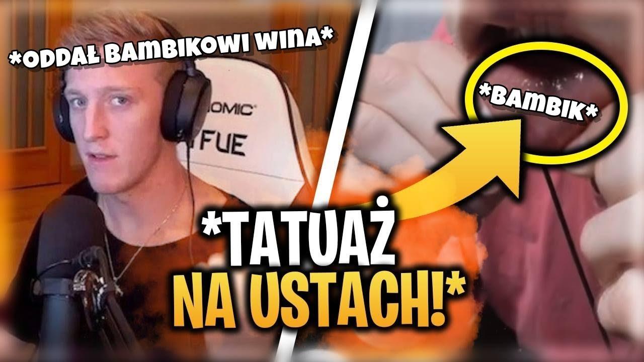 Tfue Zrobił Sobie Nowy Tatuaż Na Wardze Ninja Znowu Przegina Fortnite News6