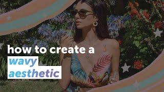 Comment créer un ondulés esthétique | PicsArt Tutoriel