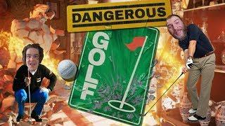 TRIAL & ERROR - Dangerous Golf Gameplay