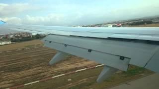 Thomson Airways Boeing 737 Manchester to Palma Majorca Landing