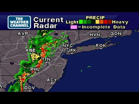 Storms hit NYC WeatherStar 4000 Emulator - 7/1/2017 - Brooklyn, NY