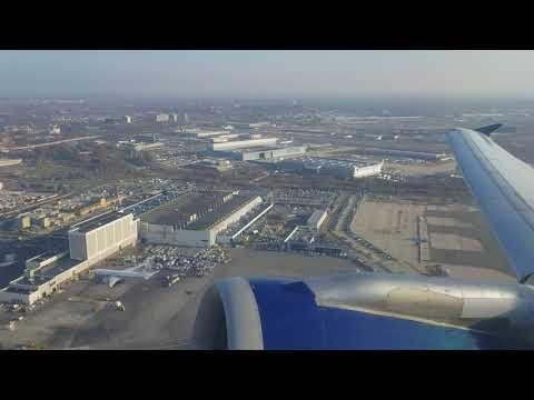 DL Flight JFK Take Off To NAS Airport, Bahamas, On Monday December 4 2017