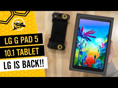 LG G Pad 5 10.1 FHD Review - Unboxing And First Impressions!