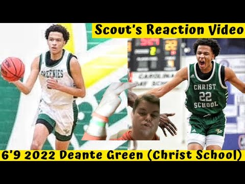 basketball-scout-reacts-|-6'9-2022-deante-green-(christ-school);-is-he-#1-in-nc?!-(reaction-video)