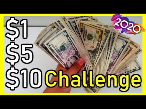 2020 Savings Challenge| The $1, $5, $10 Savings Challenge 2020