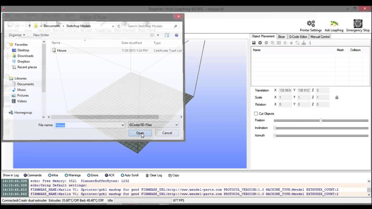 Using google sketchup to export stl files for your leapfrog using google sketchup to export stl files for your leapfrog printer xflitez Images