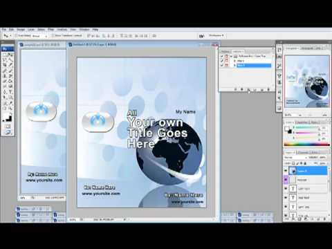ECover Templates For Photoshop Action Scripts