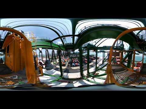 PSA Singapore - 360 Port View From A Quay Crane