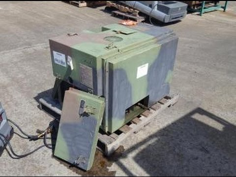 Tobyhanna Army Depot MEP701A 3kw Diesel Generator Set on GovLiquidation com