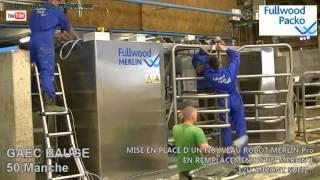 ROBOT DE TRAITE MERLIN PRO EARL BAUGE 2012