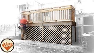 Deck Renovation (time-lapse) - Jackman Carpentry