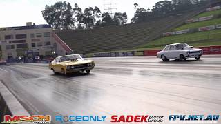 SIDE BY SIDE DRAG RACING AT ROUND 3 OF THE ATURA CHAMPIONSHIP SERIES