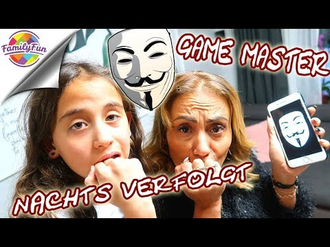 GAME MASTER VERFOLGT UNS NACHTS - ERWISCHT ER  UNS AUCH?  - Family Fun