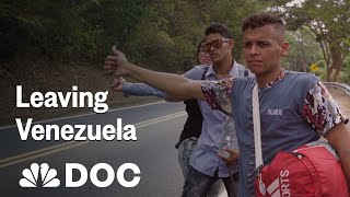 Leaving Venezuela: Walking To Find A Better Life | NBC News