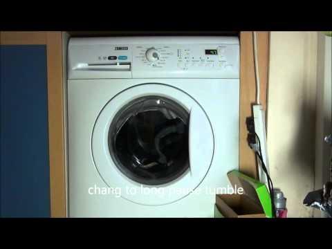 Zanussi aquafall ZWHB7160 washing machine : mix 20'c