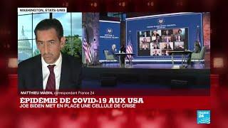 Épidémie de Covid-19 aux USA : Joe Biden met en place une cellule de crise