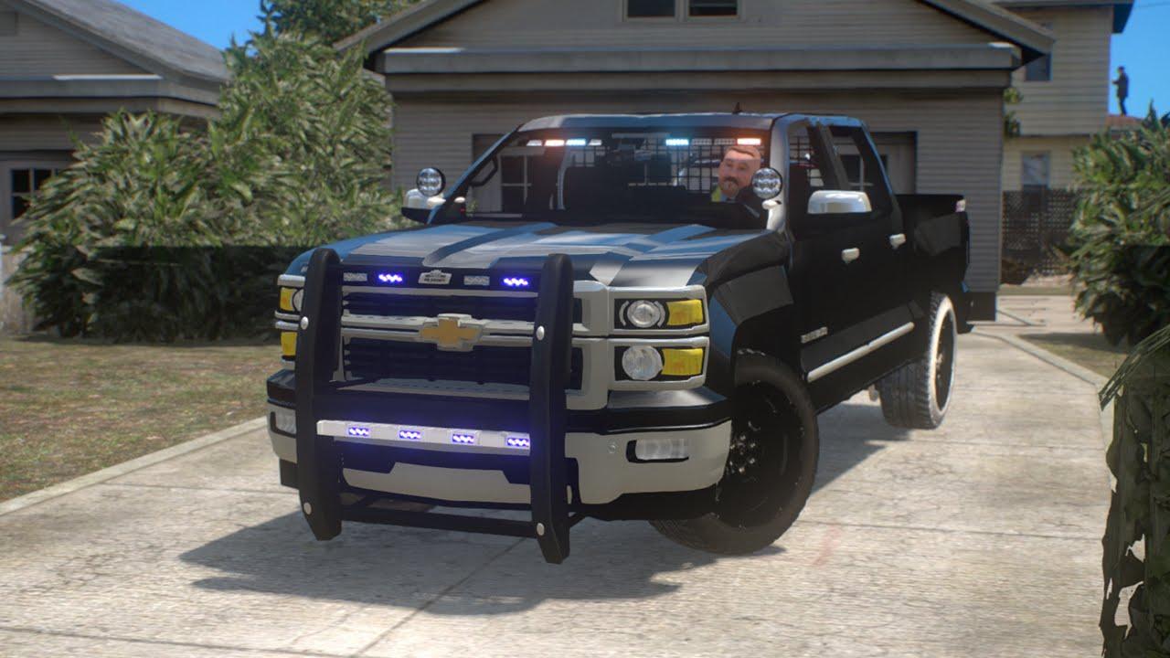 2015 Unmarked Silverado Police Car - YouTube