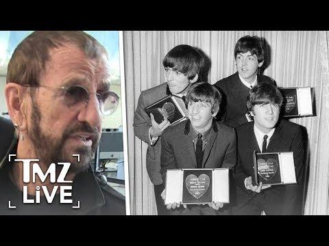 Ringo Starr Talks Beatles Masterbating! | TMZ Live
