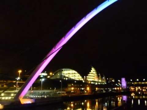 Newcastle Quayside Night Sence