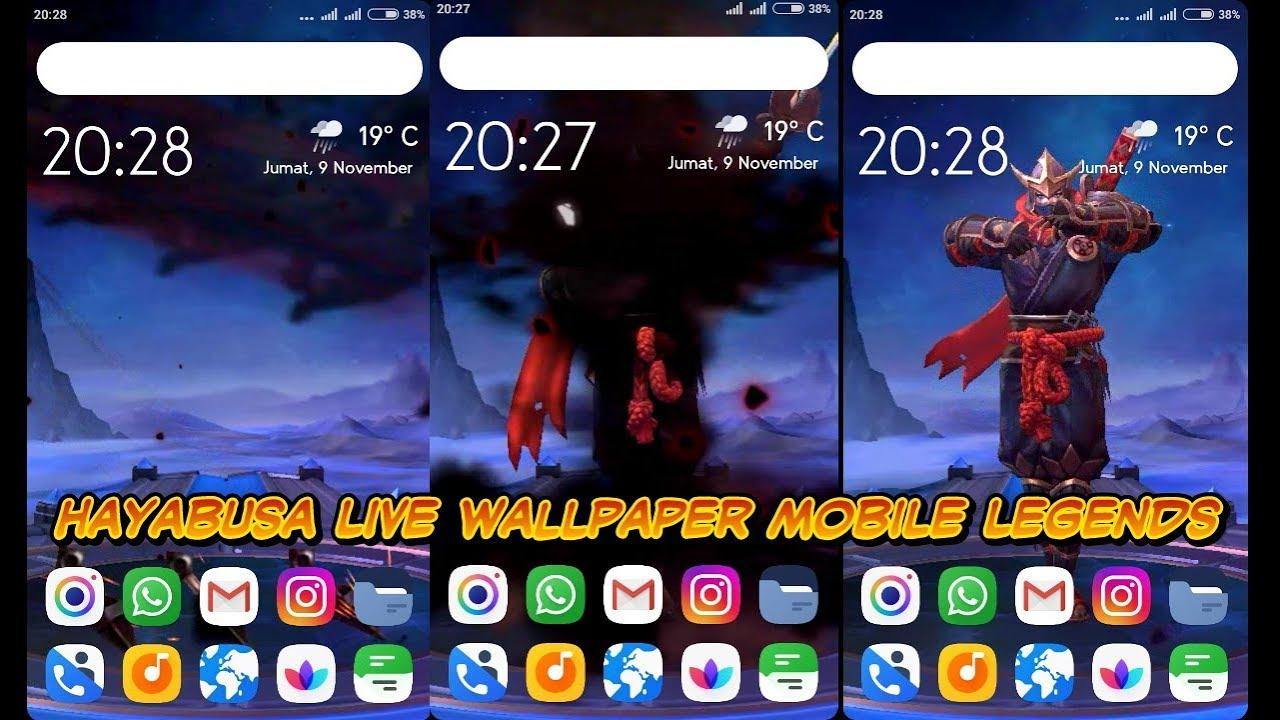 Live Wallpaper Hero Mobile Legends From Game