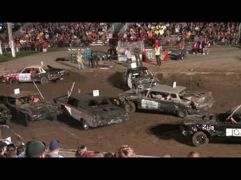 Williams County Derby - Fullsize Car Heat (2018)