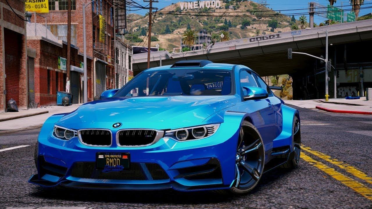 GTA SA BMW M4 f82 (MOD) Android