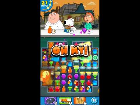 Family Guy Another Freakin Mobile Game Level 455 - NO BOOSTERS