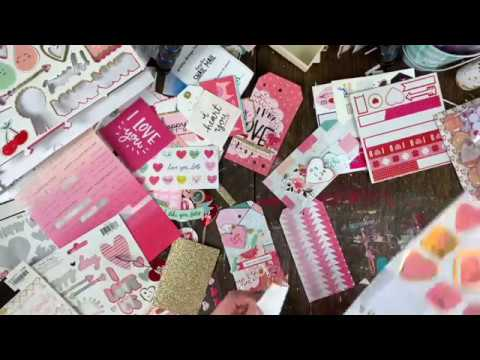 DIY Valentines Day Tags /// Crate Paper